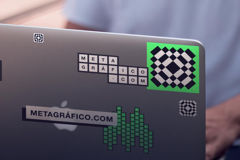 Stickers en Macbook